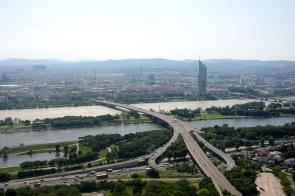 View from the Donauturm, Vienna