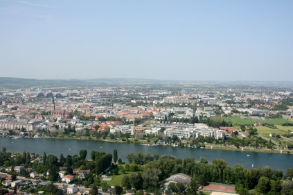 View from the Donauturm, Vienna