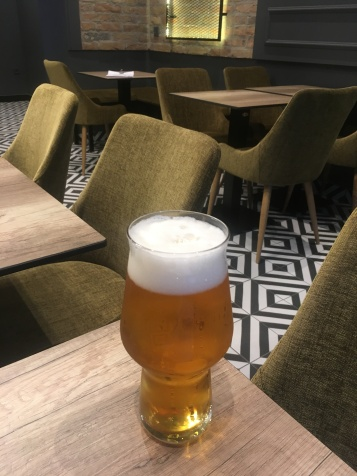 Beer with fancy décor