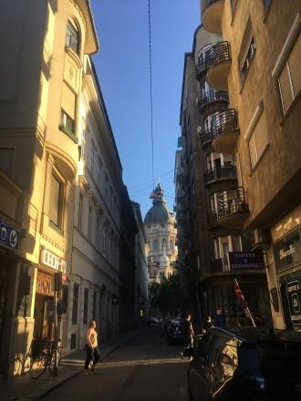 Downtown golden hour