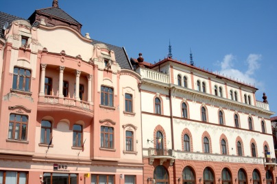 Building in King Ferdinand square, Oradea