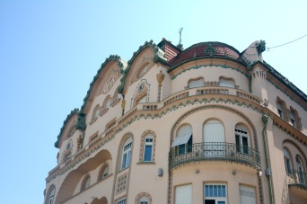 The Black Eagle Palace in Oradea