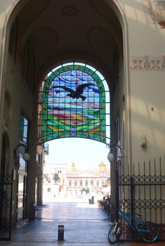 The Black Eagle Palace in Oradea