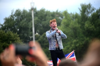 Frank Carter at the Rattlesnakes/Sziget 2019