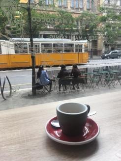 Morning in Budapest Baristas