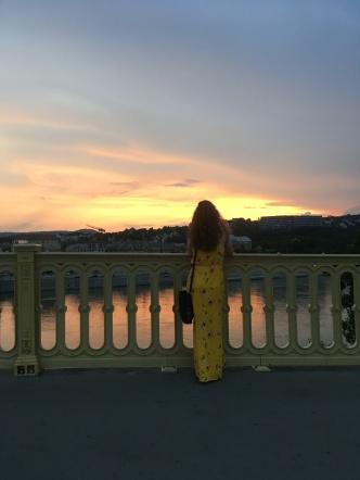 Evening walk snapshot