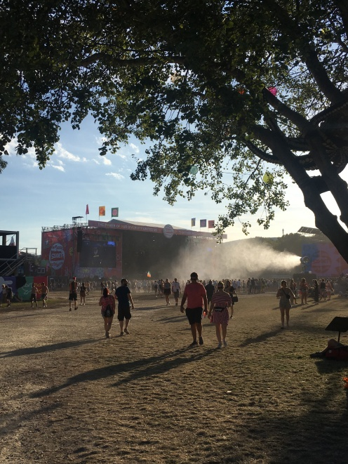 Sziget Main Stage without a crowd