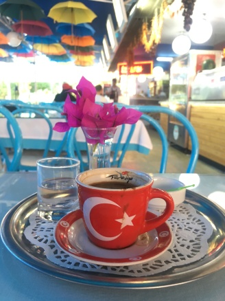 Turkish coffee at Ephesus