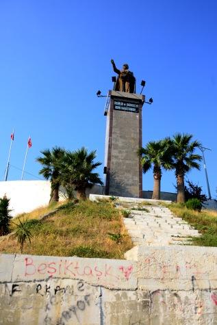 Kușadası- The Atatürk monument