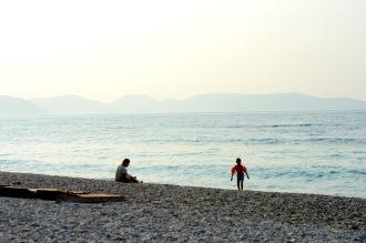 Beach in the Dilek Peninsula Büyük Menderes Delta National Park