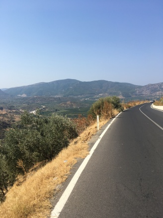 Road to Şirince