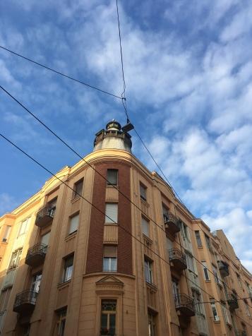 The sky over Újlipótváros
