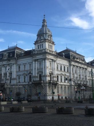 Main square in Arad