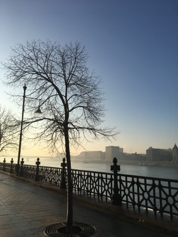 Fog/smog over the river