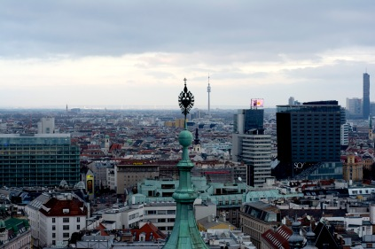 Vienna- View from the southern tower of the Stephansdom