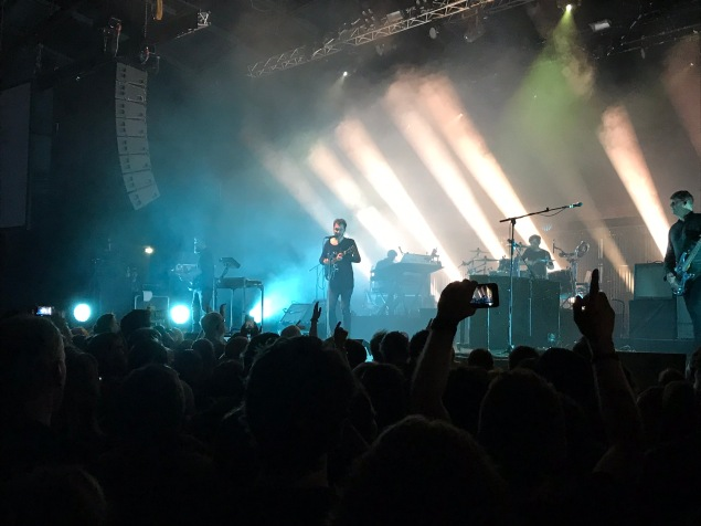 Editors at Gasometer, Vienna