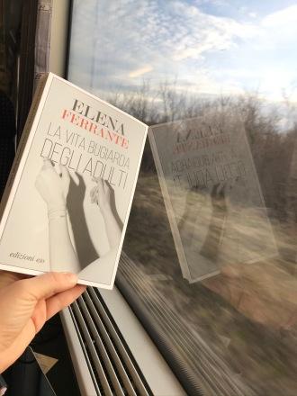 Train reads