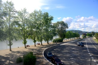 By the Danube near Chain Bridge