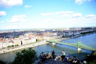 View from Gellért Hill