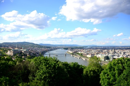View from Gellért Hill