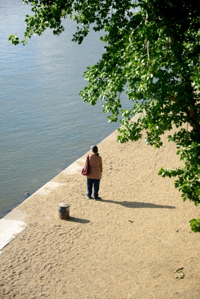 By the Danube near Chain Bridge