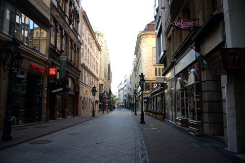 Váci street