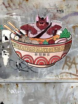 Work by 0036 mark on Varsányi Irén street