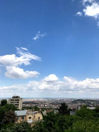 View from Thománn István street