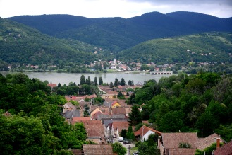 View of Visegrád from Nagymaros